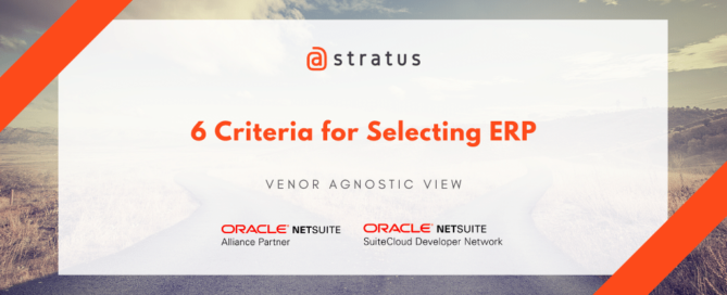 6 Criteria for Selecting ERP - atstratus